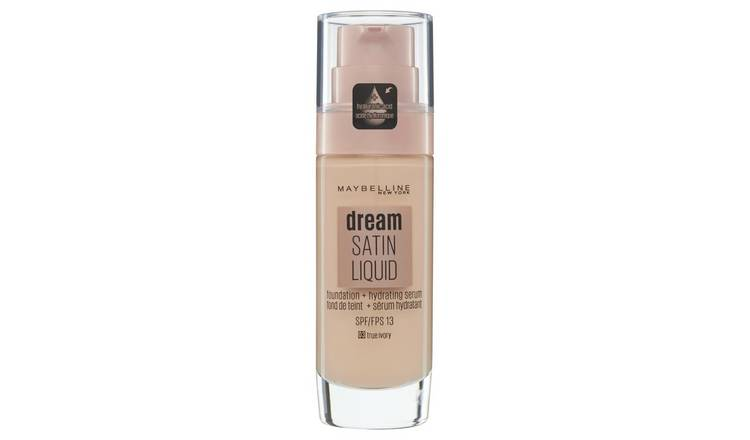 Maybelline Dream Satin Liquid Foundation - True Ivory