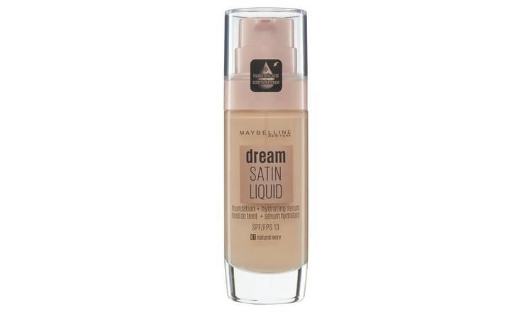 Maybelline Dream Satin Liquid Foundation - Natural Ivory
