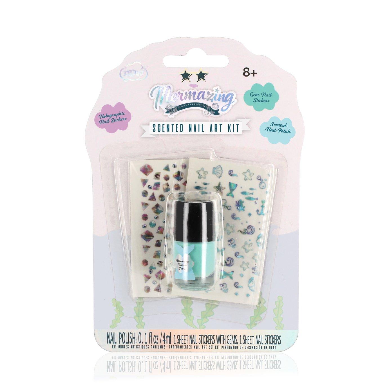 Mermazing Scented Nail Art Kit - Sky Blue