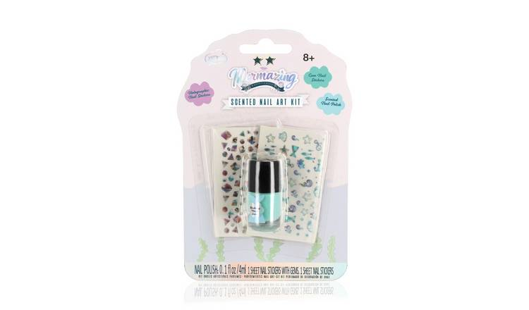 Mermazing Scented Nail Art Kit - Sky Blue