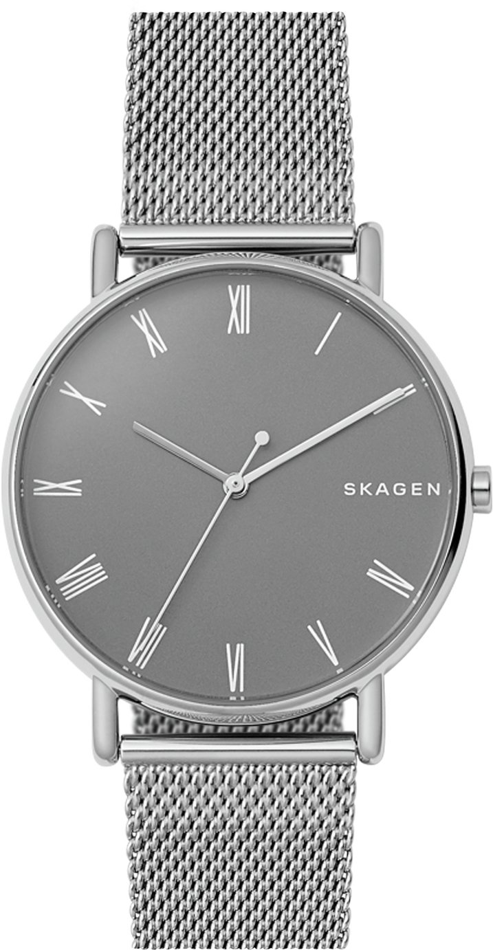 Skagen Men's Signitur Metallic Mesh Strap Watch