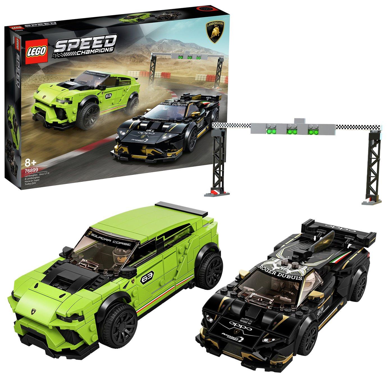 LEGO Speed Champions Lamborghini Urus & Hurac�n Set - 76899