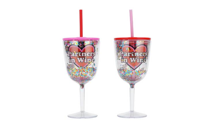 Partners in Wine Drinks Cup Set