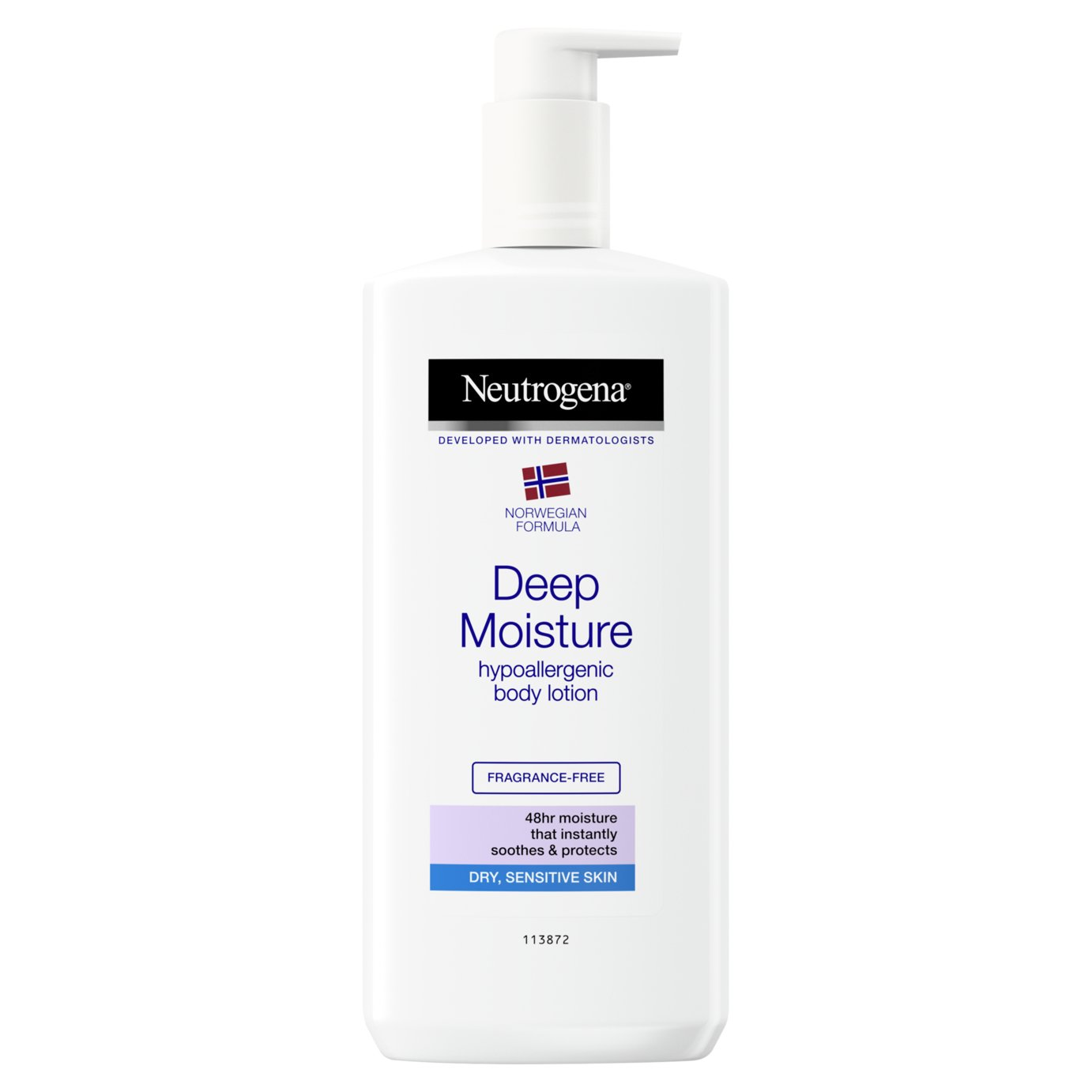 Neutrogena Deep Moisture Sensitive Body Lotion - 400ml