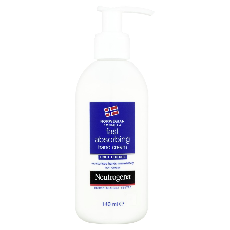 Neutrogena Fast Absorbing Hand Cream - 140ml