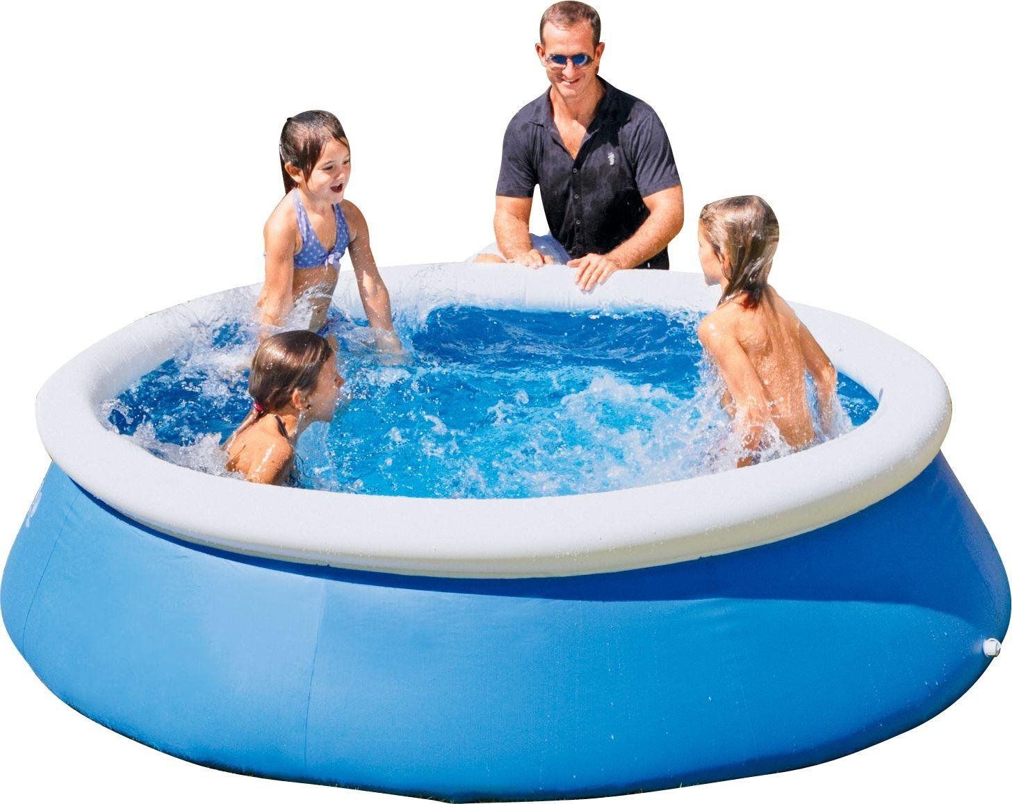 Bestway   Quick Up Octagonal Family Pool   8ft   Blue