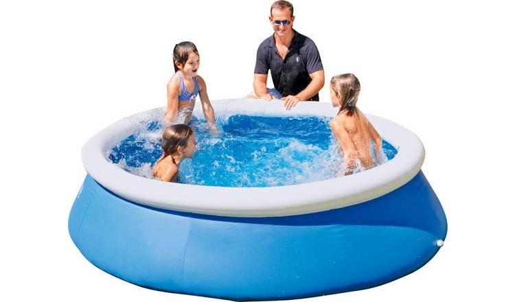 Bestway 8ft Quick Up Round Family Pool - 2300L 0 from Argos' garden toy range