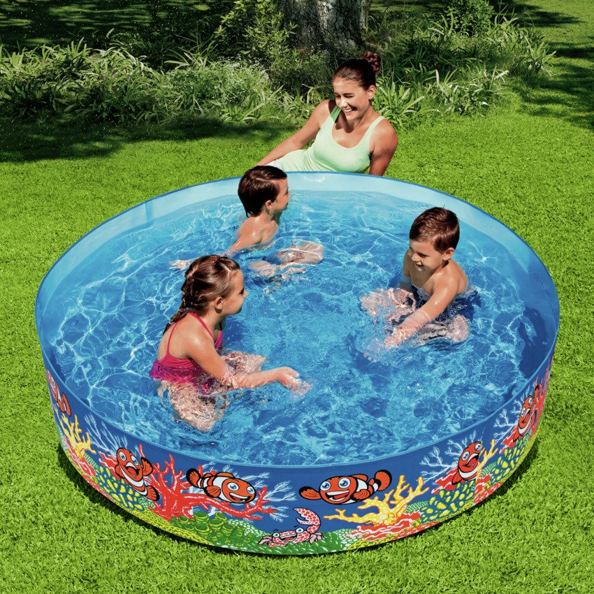 Chad Valley   Ocean Snapset Pool   6ft   Multicoloured
