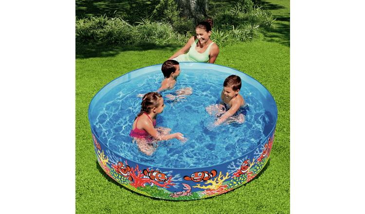 Chad Valley 6ft Ocean Fill 'N' Fun Kids Paddling Pool - 749L