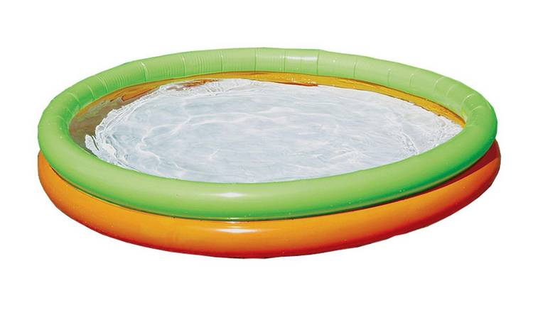 Chad Valley 5ft 2 Ring Round Kids Paddling Pool - 296L