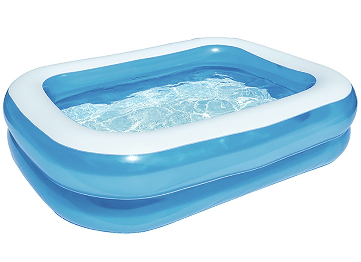 Chad Valley 7ft Rectangular Kids Paddling Pool – 400L