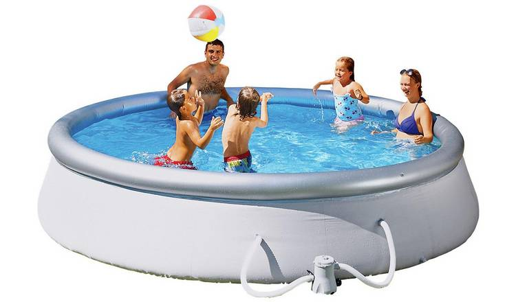 Buy Bestway 10ft Quick Up Round Family Pool 3638l Pools And Paddling Pools Argos