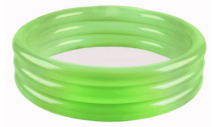 Chad Valley 3ft 3 Ring Round Kids Paddling Pool - 108L