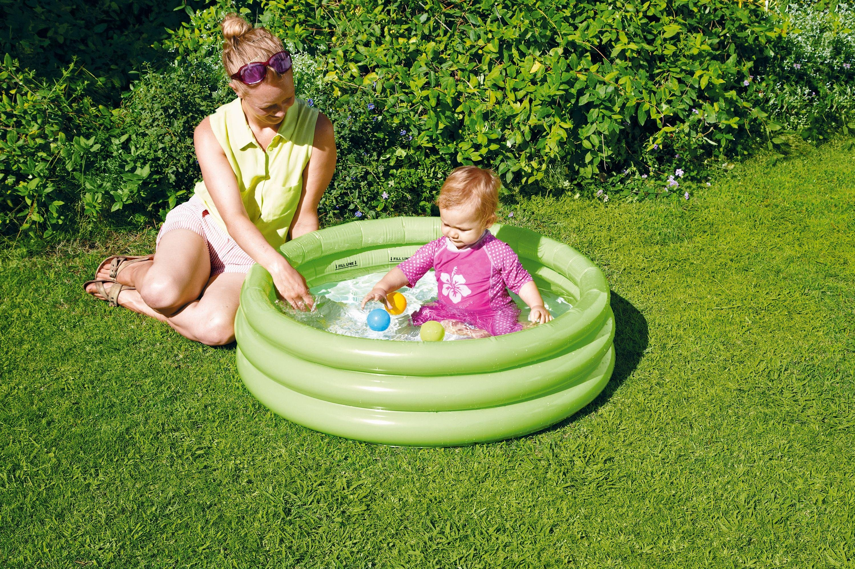 Chad Valley 3 Ring Paddling Pool - 3ft - 108 Litres
