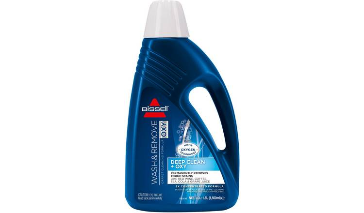 Bissell Wash and Remove Oxygen 1.5L Carpet Cleaning Solution