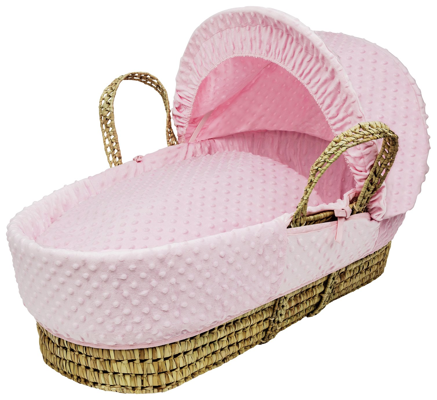 Kinder Valley Pink Dimple Moses Basket review