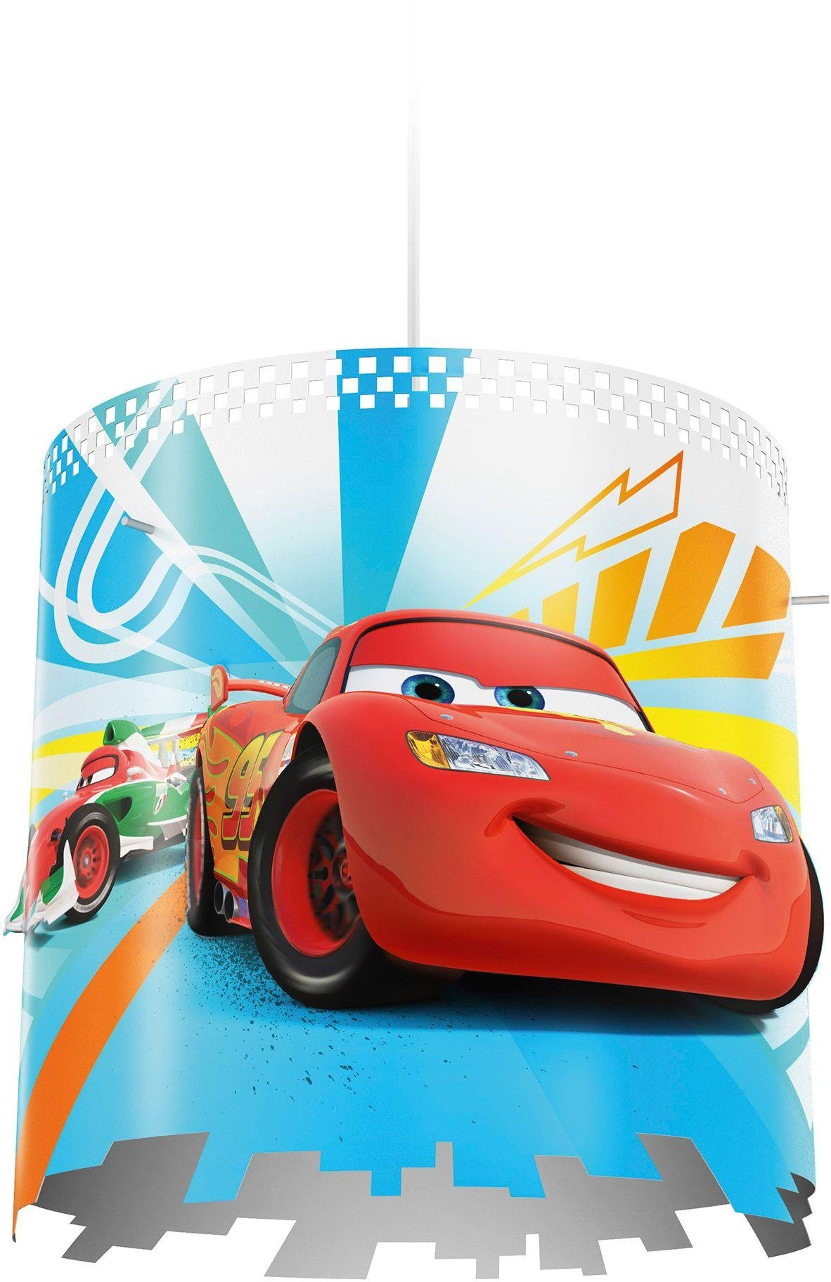 Image of Philips - Disney Cars Pendant Lightshade - Red