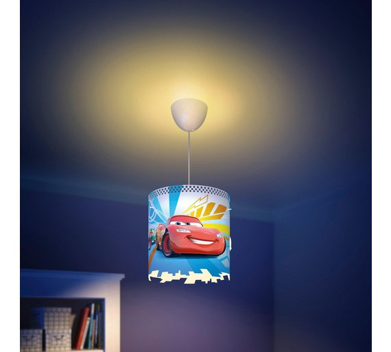 Buy philips disney cars pendant lightshade red at argos click to zoom mozeypictures Image collections