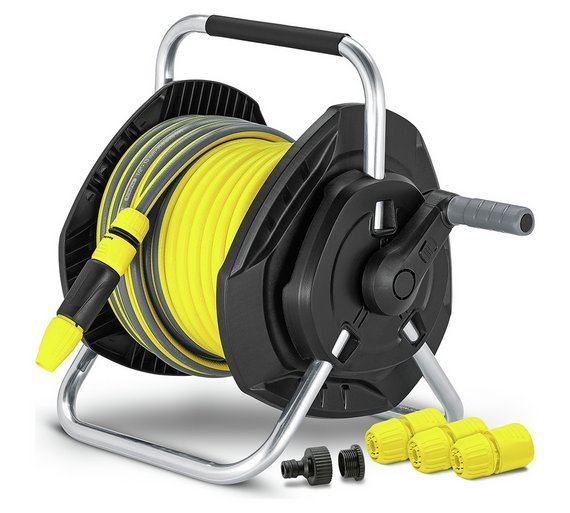 Image of Karcher Hose Reel and Accessories - 25m