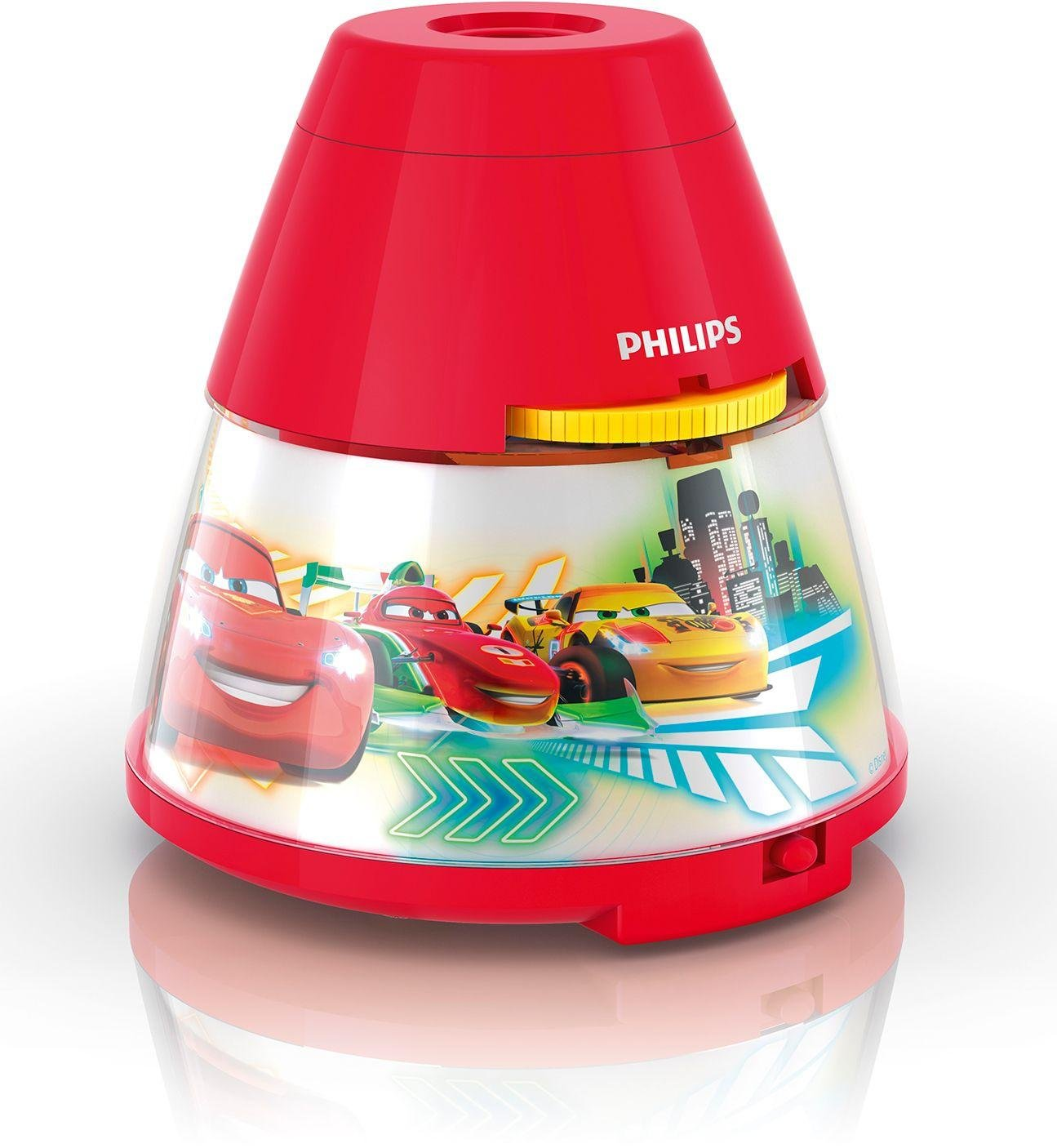 Philips - Disney Cars LED Projector - Red