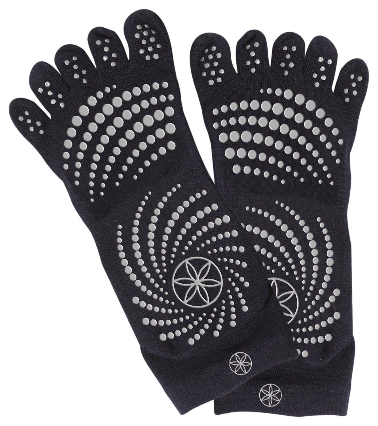 Gaiam - Medium to Large All Grip Yoga Socks Review