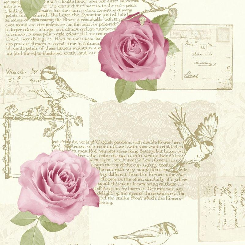 arthouse bella wallpaper  rose.