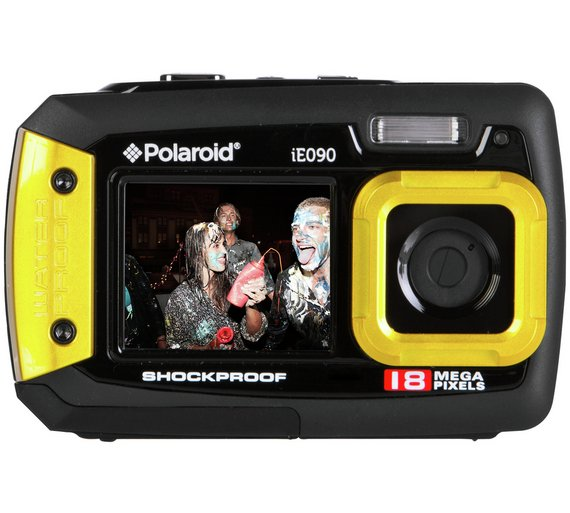 Buy Polaroid IE090 18MP Waterproof Camera - Yellow at Argos.co.uk ...