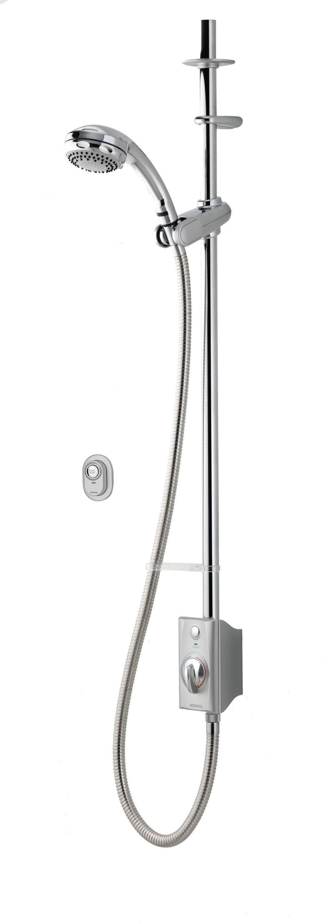 Aqualisa AQ Digital Exposed Gravity Pumped Shower - Chrome