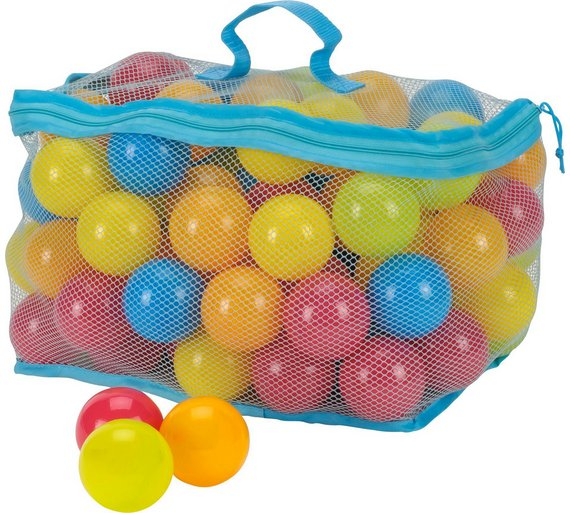 buy chad valley bag of 100 multi coloured play balls at your online shop for ball. Black Bedroom Furniture Sets. Home Design Ideas