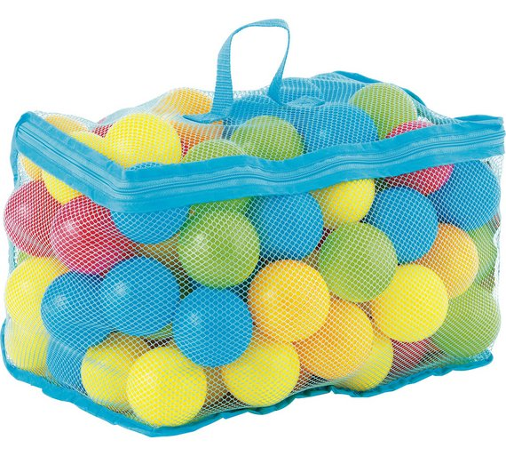 Buy Chad Valley Bag Of 100 Multi Coloured Play Balls Ball Pits Argos