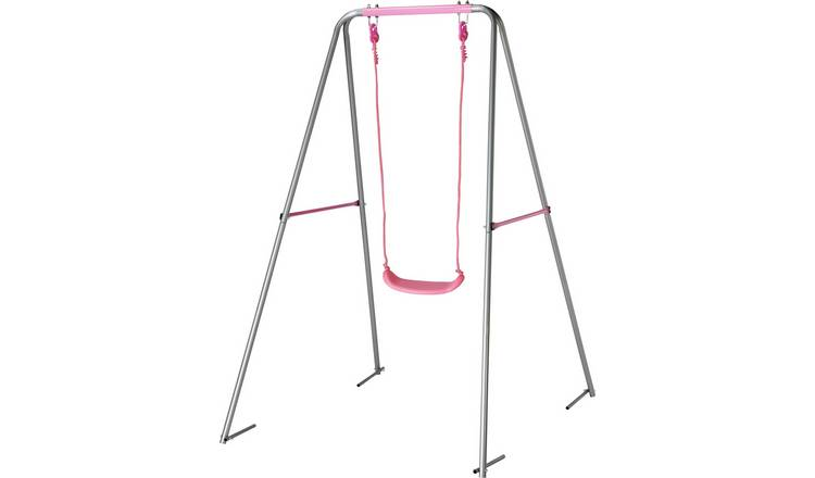 Chad Valley Kids Garden Swing - Pink