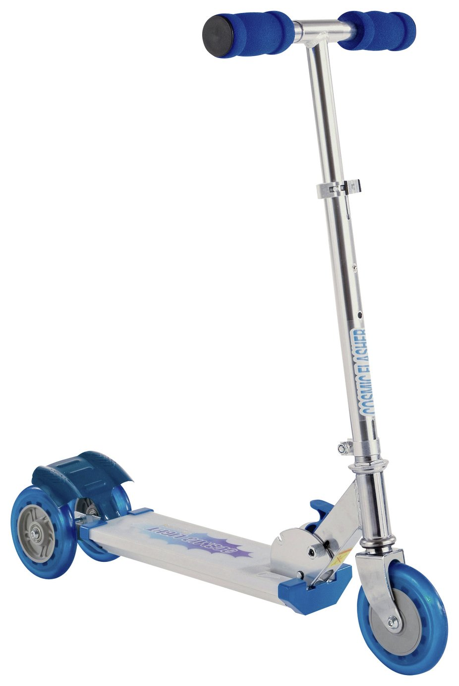 Buy Cosmic Light Flashing Tri Scooter Blue Scooters Argos