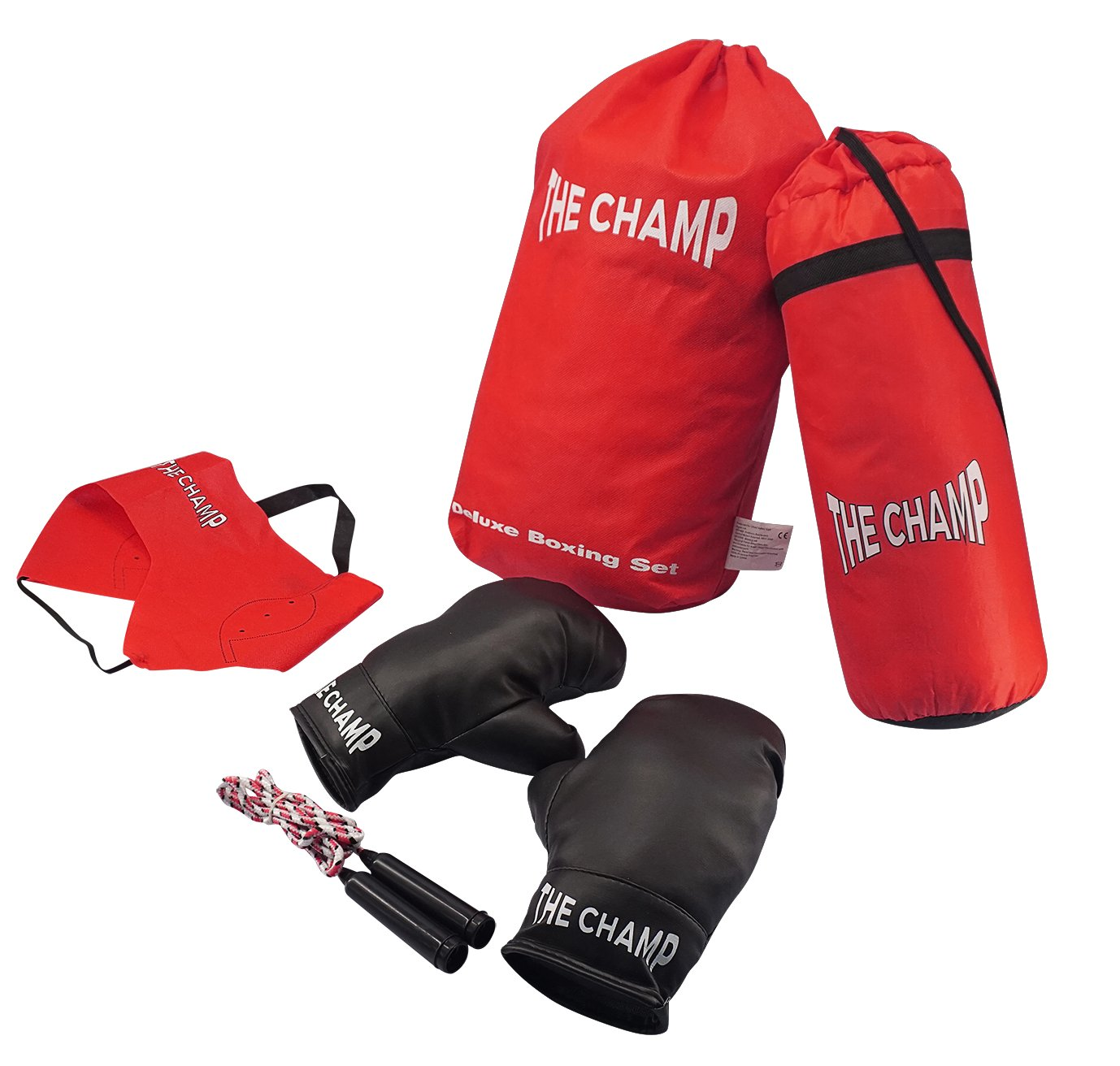 Fitness Gloves Argos: Chad Valley 5 Piece Boxing Set