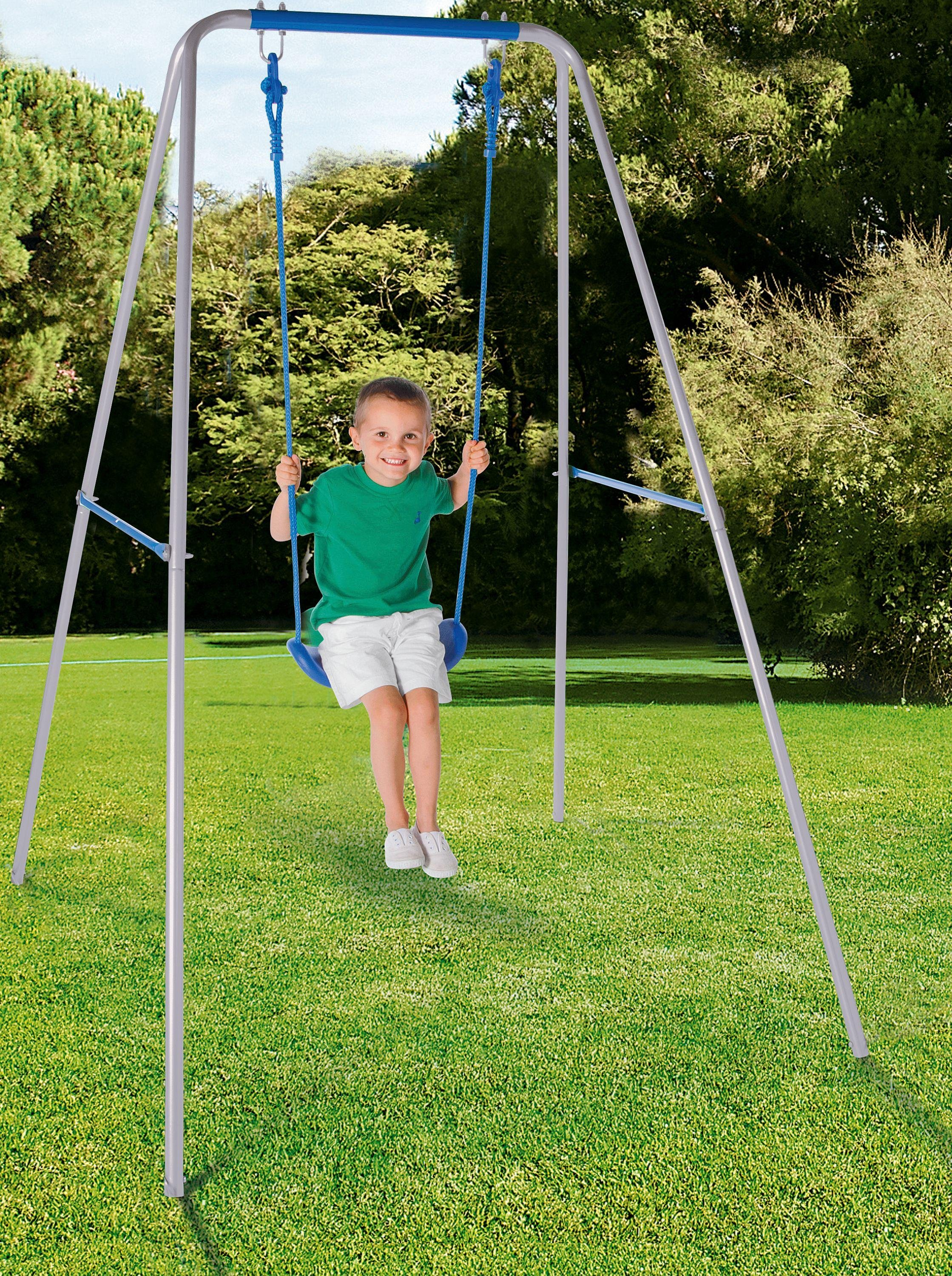 Chad Valley Kids' Active Single Swing - Blue