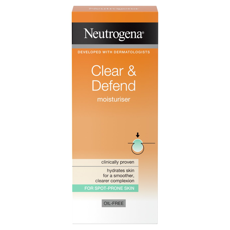 Neutrogena Visibly Clear Oil-Free Moisturiser - 50ml