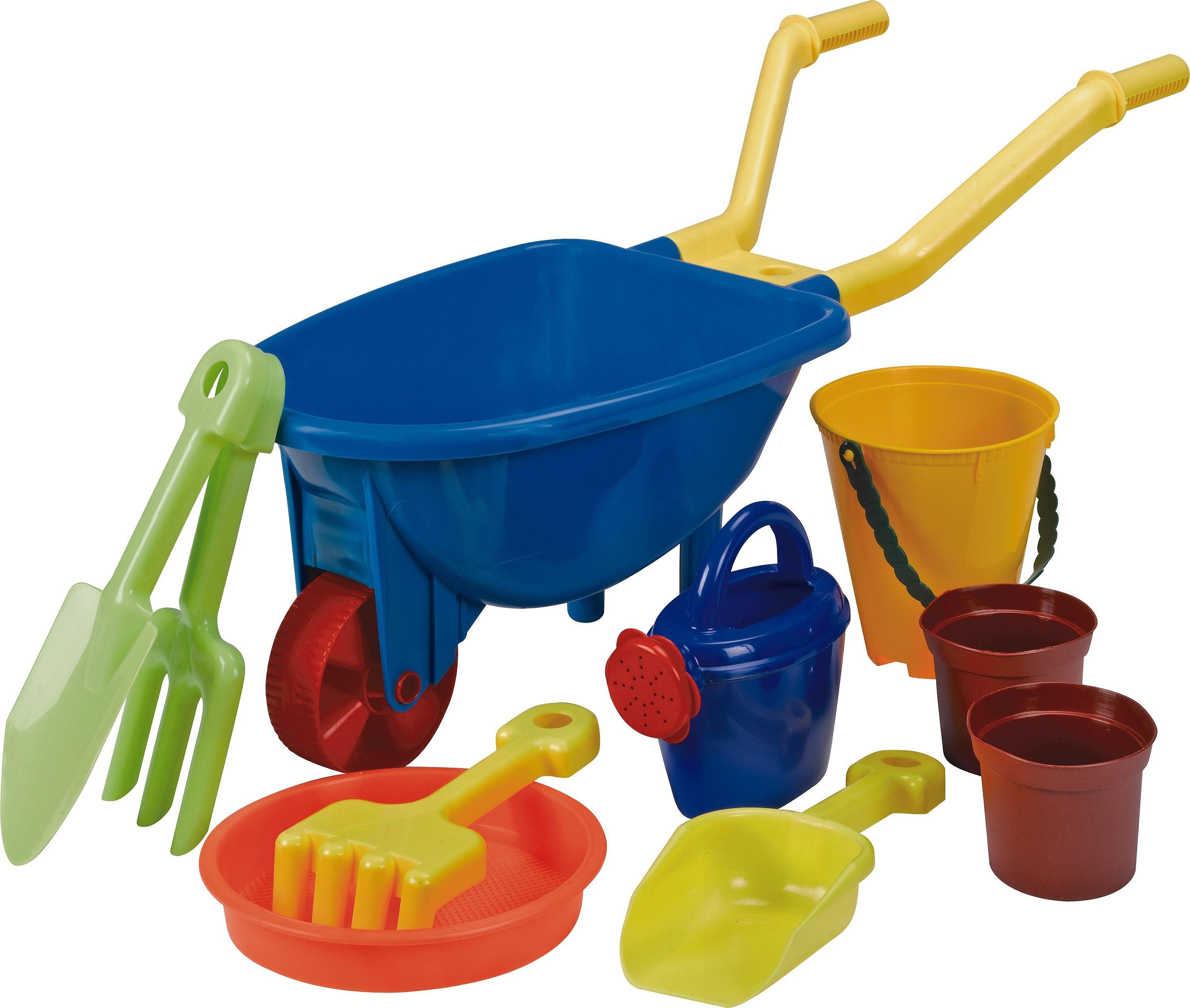 Chad Valley Wheelbarrow Set