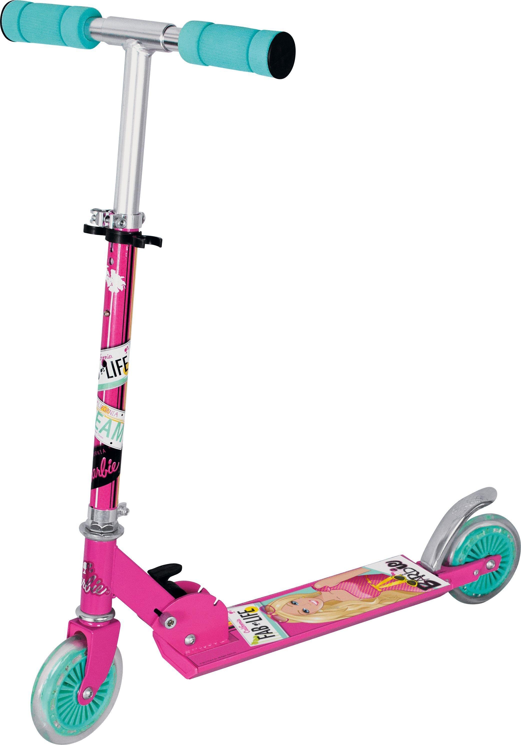 Barbie Inline Scooter - Pink.