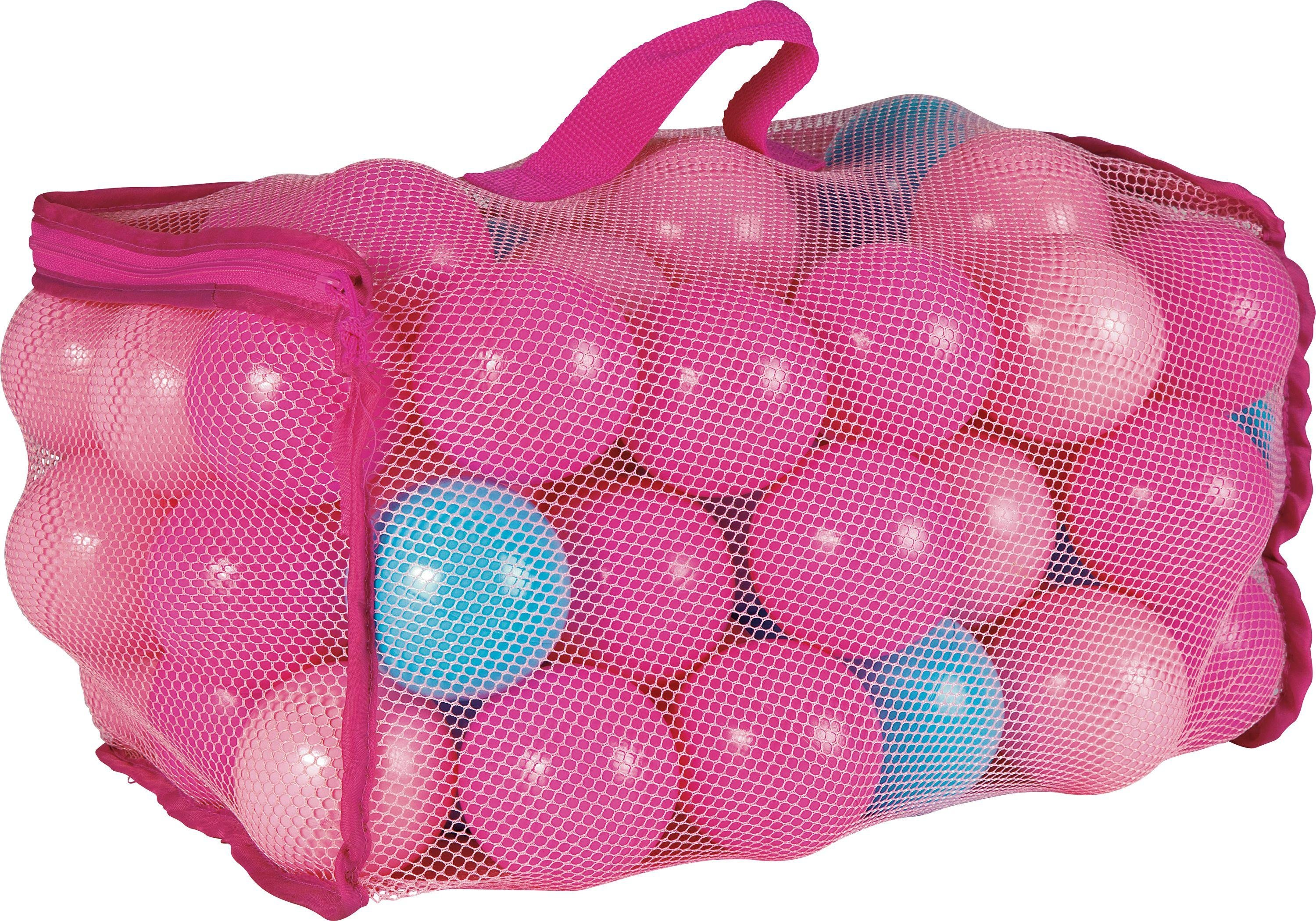 Chad Valley   Bag Of 100 Pink And Blue Playballs