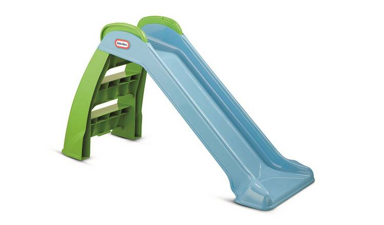 Little Tikes My First 3ft Toddler Slide - Blue and Green