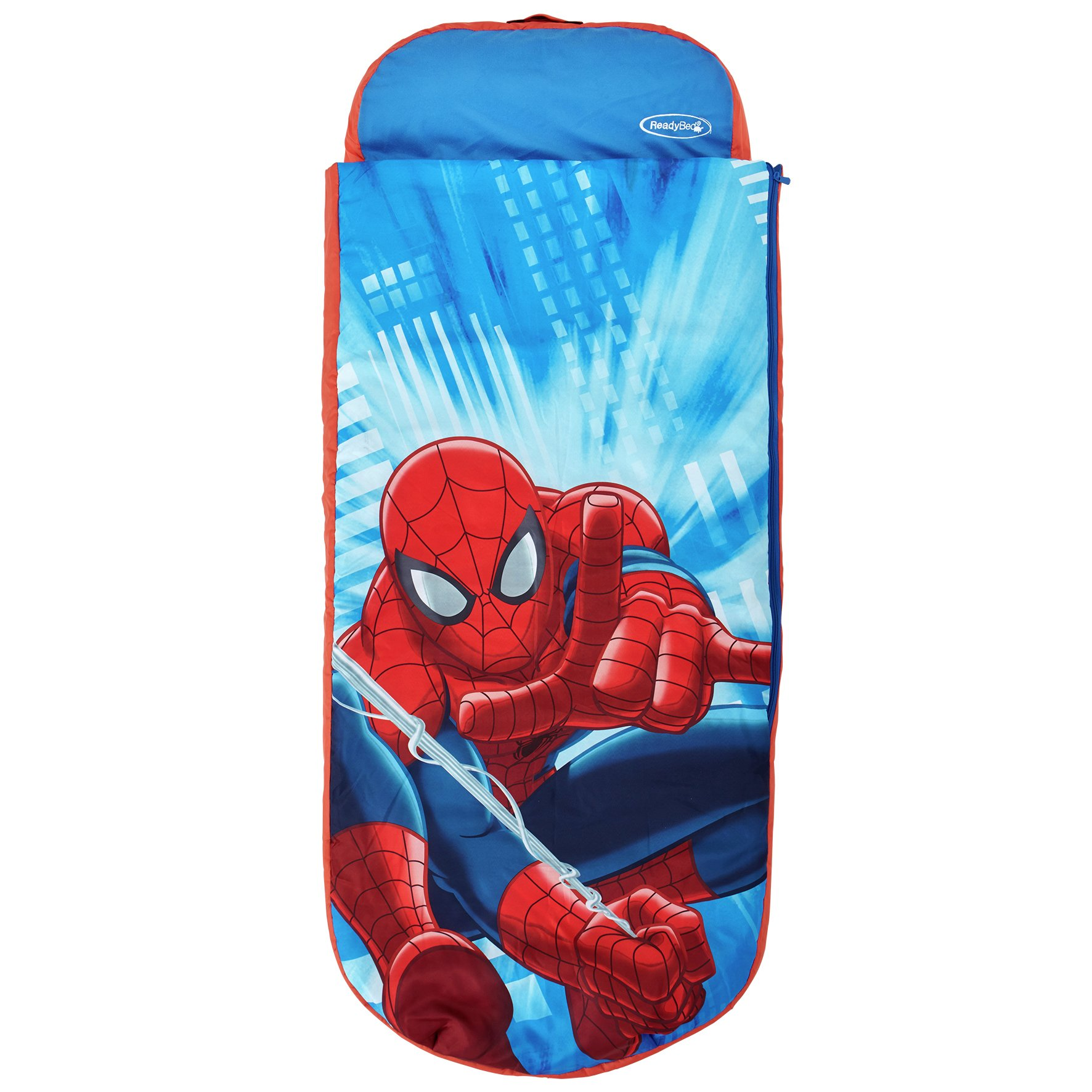 Spider-Man - Junior - ReadyBed - Airbed and Sleeping Bag