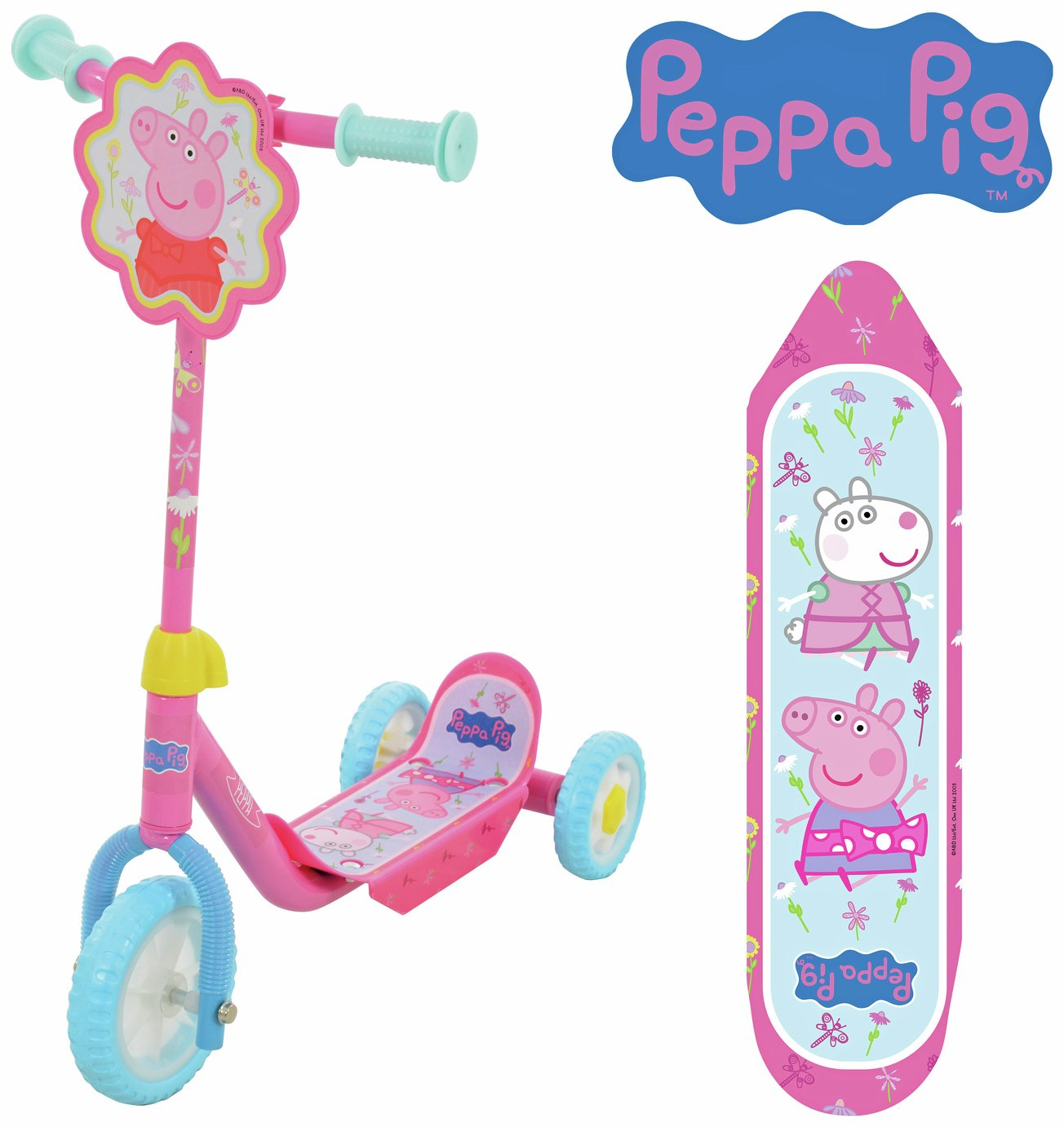 Peppa Pig My First Tri-Scooter - Pink