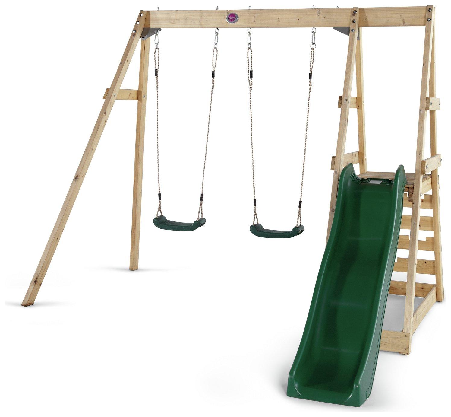 plum  tamarin wooden climbing frame