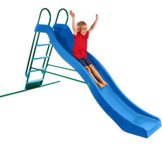 how to teach kid to slide