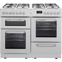Bush - BCL100DFW - Dual Fuel Range Cooker- White