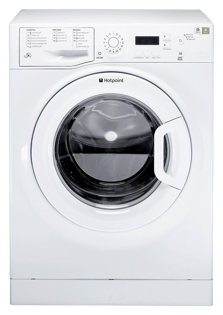 Image of Hotpoint WMXTF842P 8KG 1400 Spin Washing Machine - White