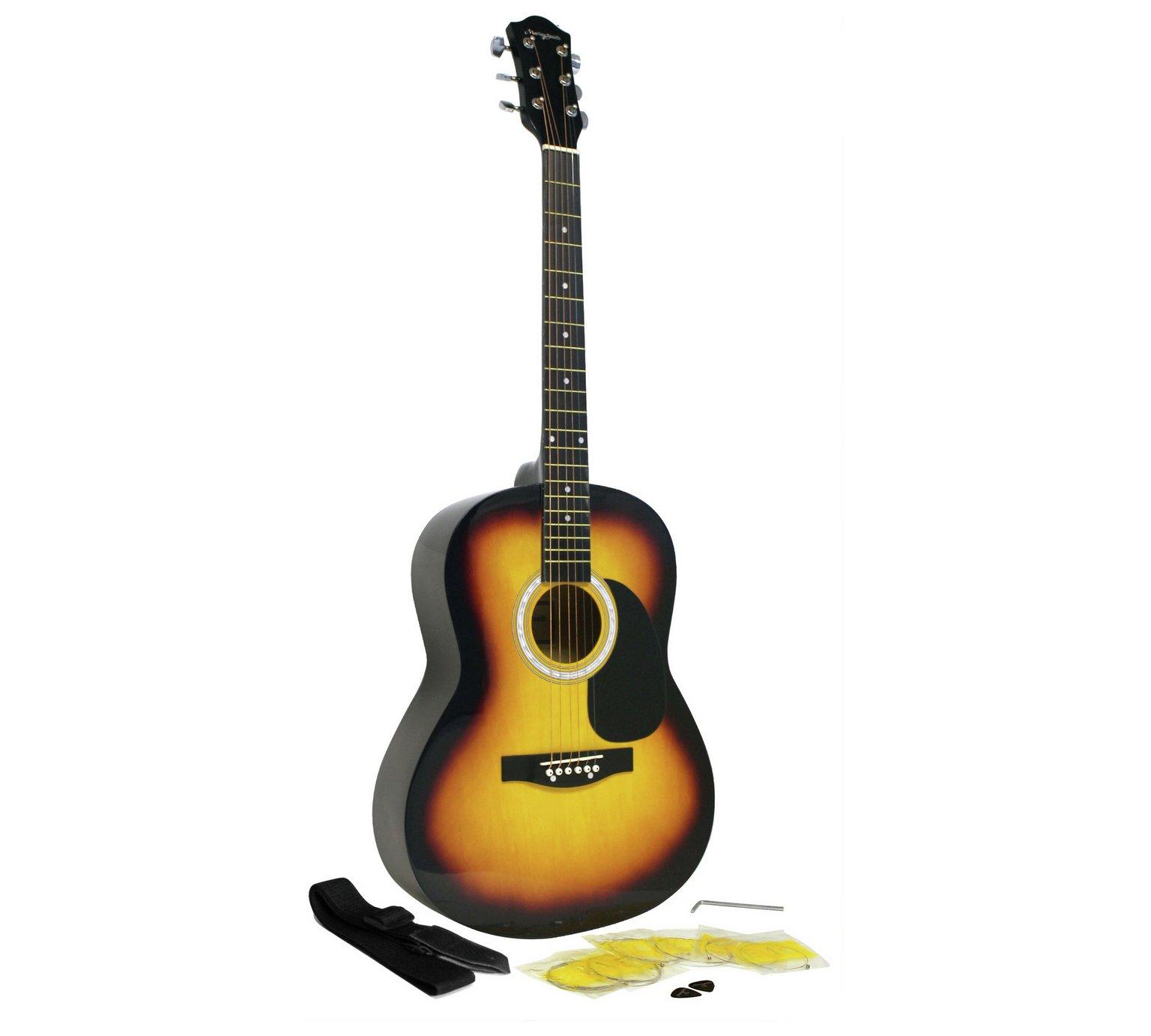 Martin Smith 39 Inch Acoustic Guitar Pack - Sunburst