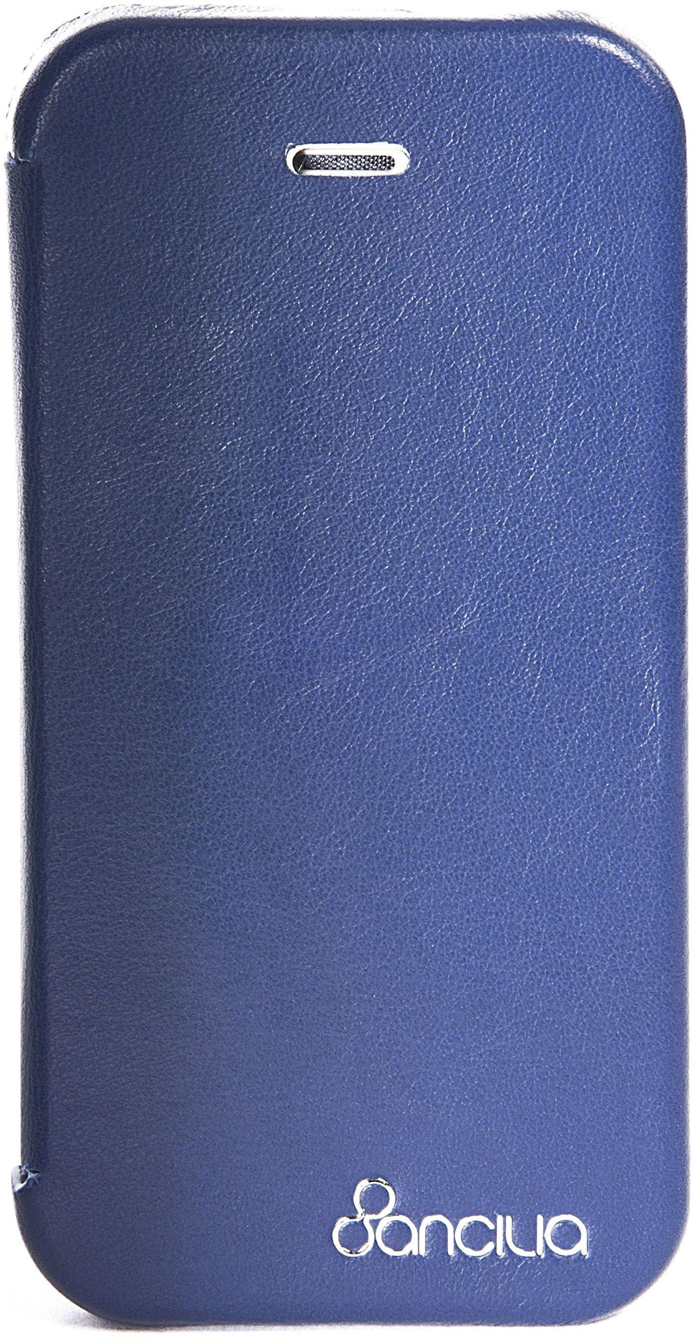 Image of Ancilia Anti Radiation iPhone 5/5S Booklet Case - Blue.