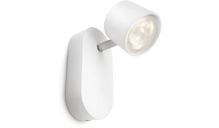 Philips myLiving Adjustable LED Ceiling Spot Light - White.