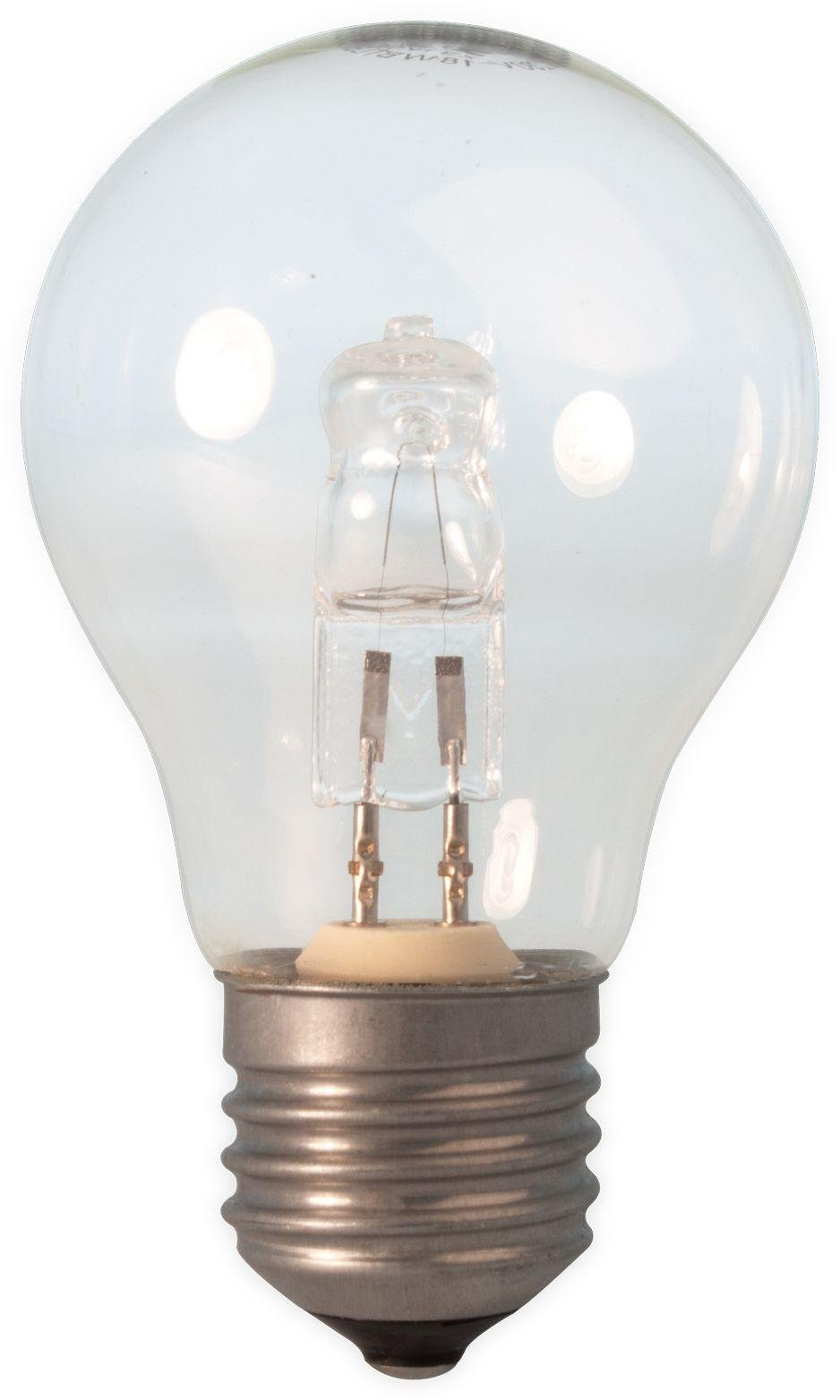 Image of Calex 18W Halogen GLS Lamp Clear Glass Dimm Bulb - 10 Pack