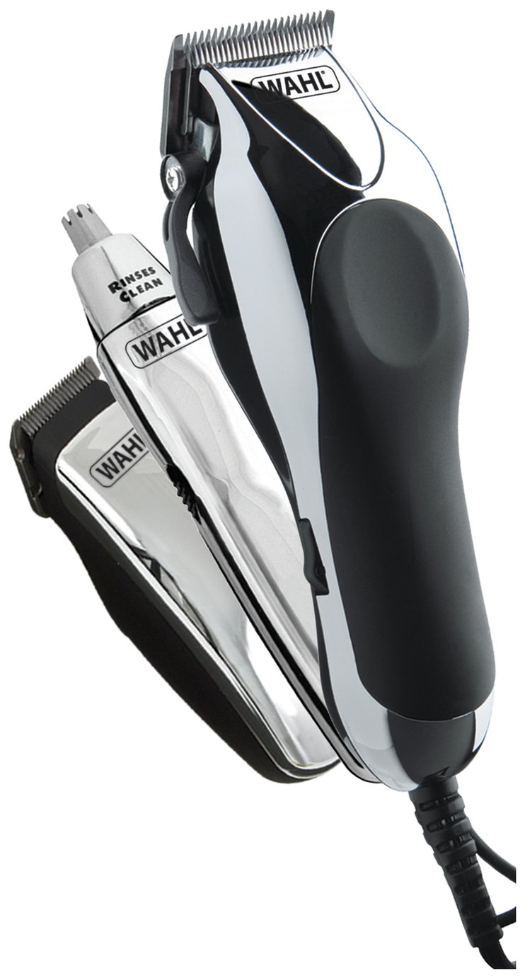 Wahl Deluxe Chrome Pro Hair Clipper Kit